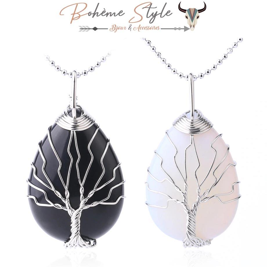 Collier arbre de vie boheme style
